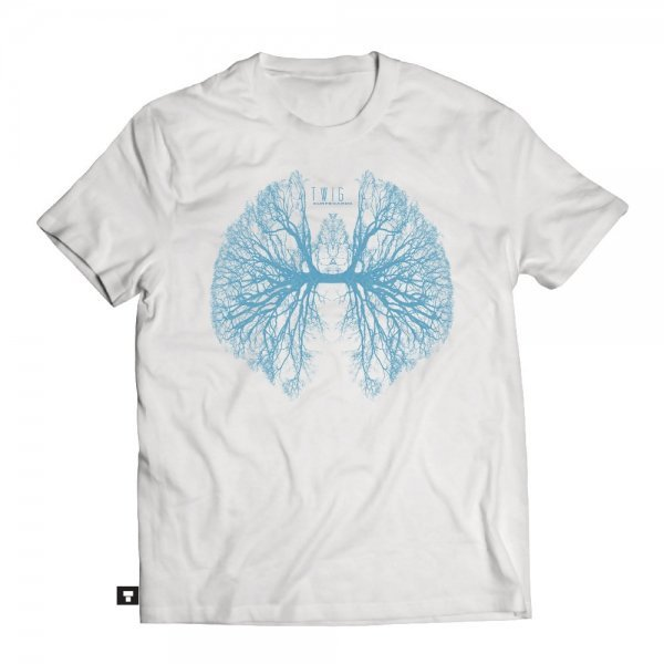 Twig LUNGS T-Shirt | White
